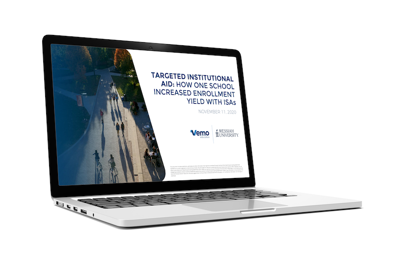 Targeted Institutional Aid: How one school increased enrollment yield using ISAs